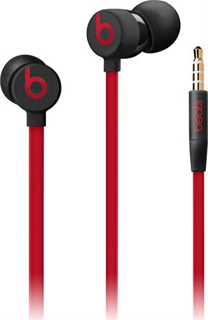 Winnola Beats By Dr Dre Urbeats3 In Ear Headphones Red And Black Certified Refurbished